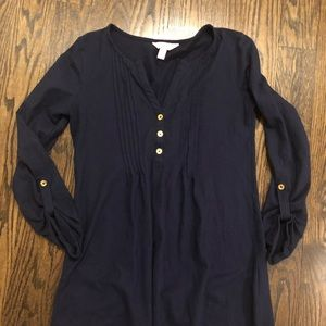 Lilly Pulitzer navy top XS